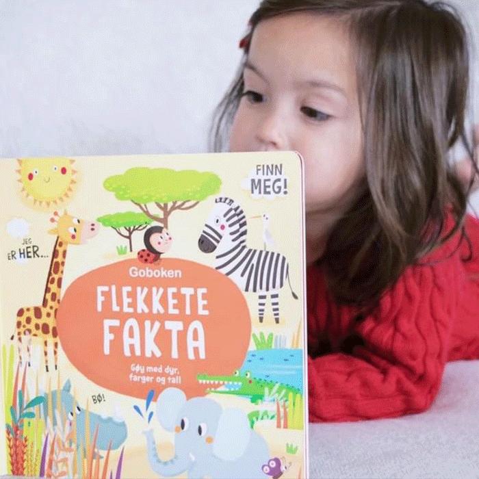 Jente leser Flekkete fakta: Foto IG: lille_lauren